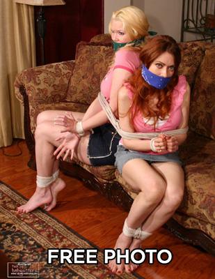 Babysitters in bondage